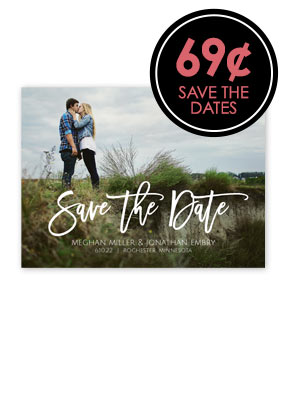 69¢ Save the Dates