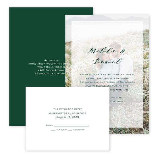 Wedding Invites Free Respond Cards