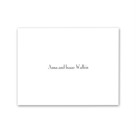 Simply White  Note Card and Envelope