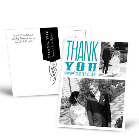 So Grateful  Thank You Postcard