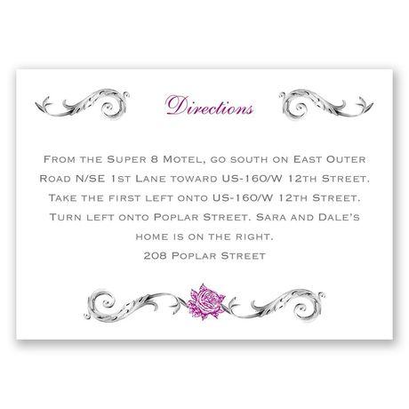 Fairy Tale Roses - Map Card