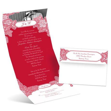 Romantic Details - Seal and Send Invitation