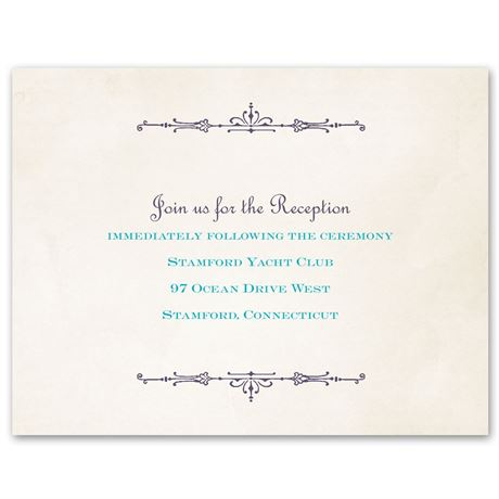 Charmed  Reception Card
