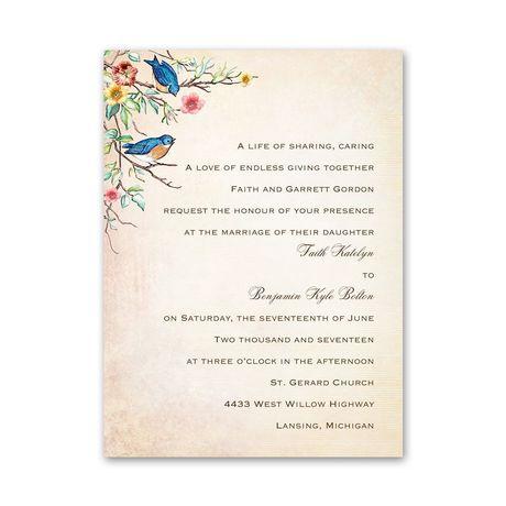 Bluebird Melody - Petite Invitation