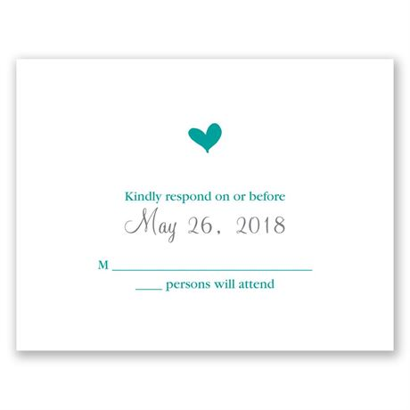 Perched Heart  Response Card