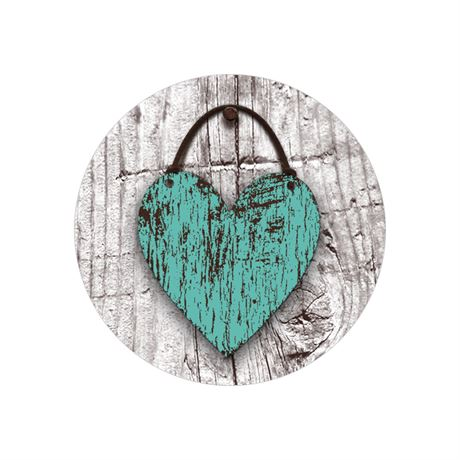 Wood Heart - Envelope Seal