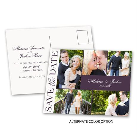 Photo Happy - Save the Date Postcard