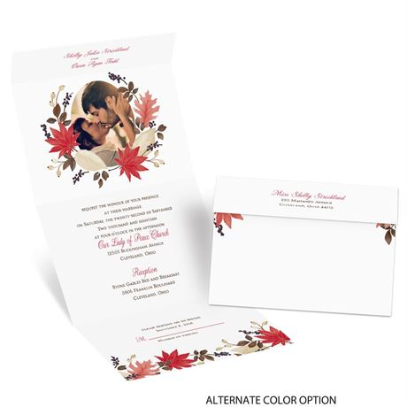 Leaves and Branches - Seal and Send Invitation
