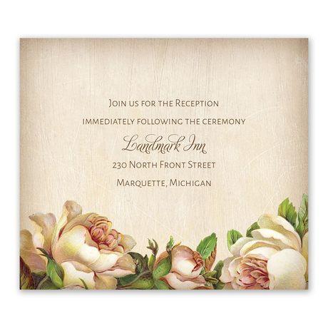 Antique Rose - Information Card