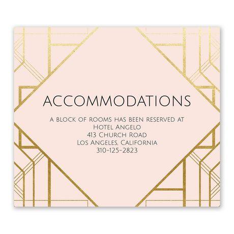 Art Deco Shine - Information Card