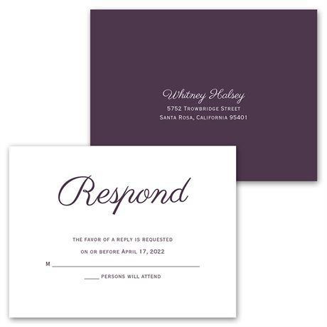Initial Layout - Invitation with Free Respond Postcard