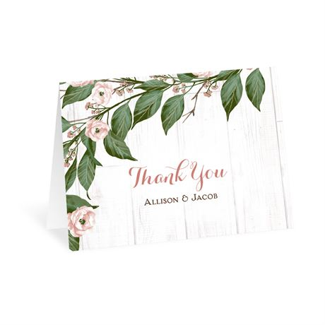 Farmhouse Floral - Thank You Card