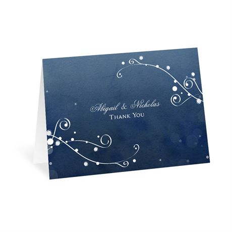 In The Stars Thank You Card