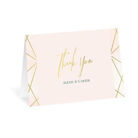 Modern Chic - Thank You Card