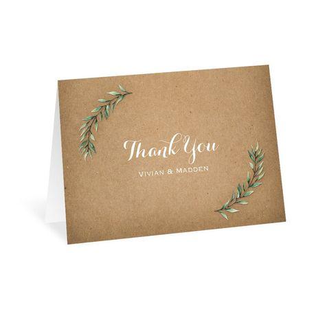 Country Boho - Thank You Card