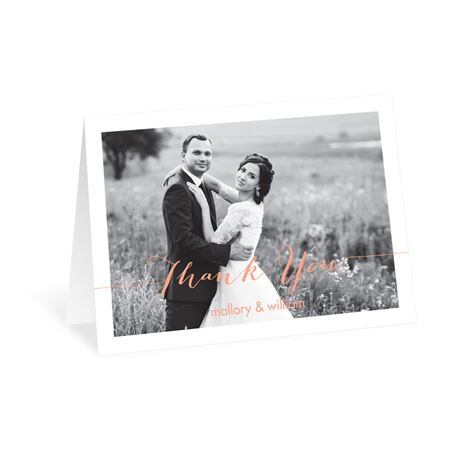 Photo Feature - Thank You Card