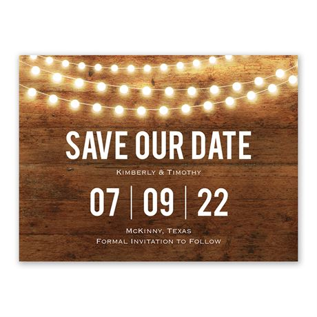 Brilliant Lights - Save The Date