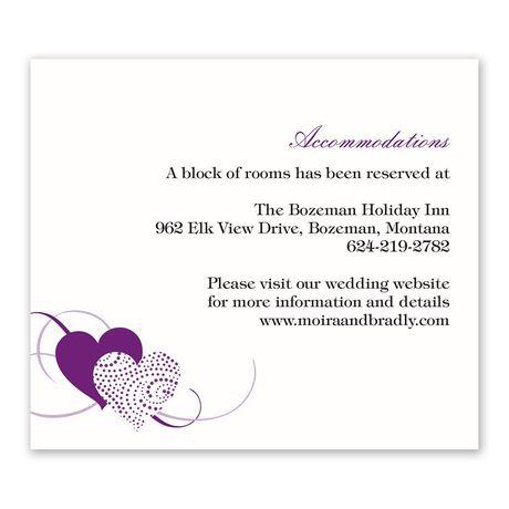 Close at Heart - Information Card