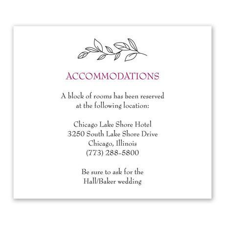 My Beloved - Information Card