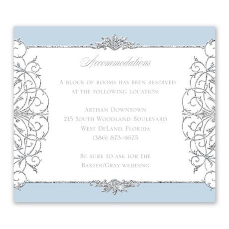 Fairy Tale Sparkle Information Card