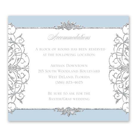 Fairy Tale Sparkle - Information Card
