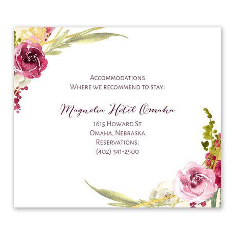 Geo Rose Information Card