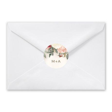 Blush Floral - Envelope Seal