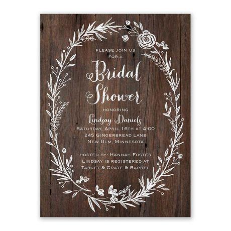 Ever After Bridal Shower Invitation