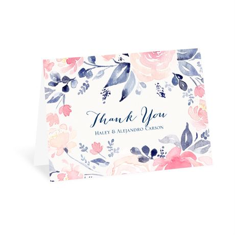 Blooms Abound - Thank You Card