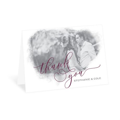 Calligraphy Frame - Thank You Card
