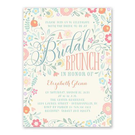 Bridal Brunch - Bridal Shower Invitation