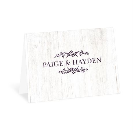 Happily Wed Thank You Card