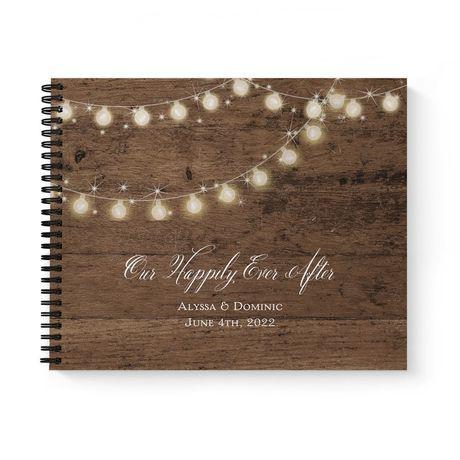 Rustic Glow - Guest Book