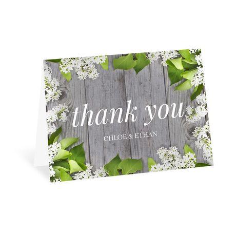 Spring Floret Thank You Card