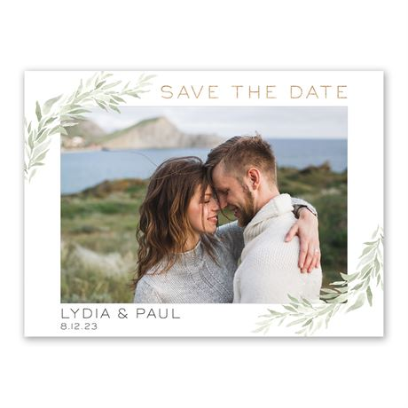 Greenery Frame - Save the Date