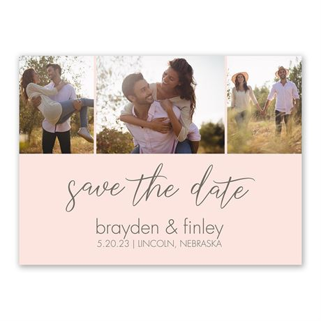 Sweet Script - Save the Date