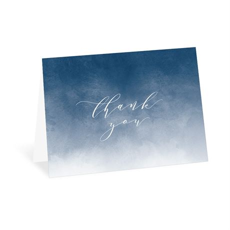 Ombre - Thank You Card