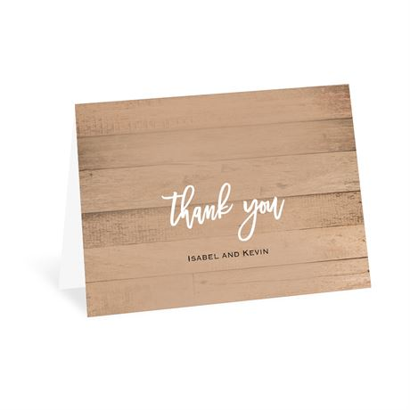 All Things Thank You Card