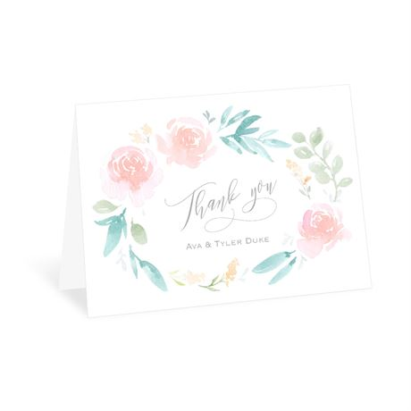Love Believes Thank You Card