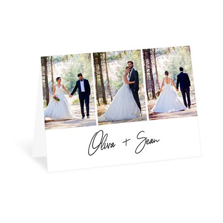 Modern Photo - Thank You Card