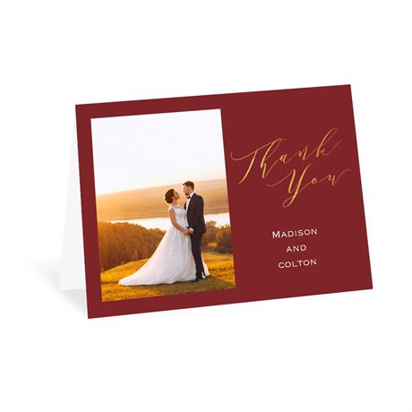 We Do - Thank You Card