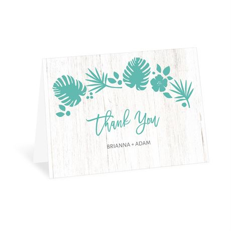 Tropical - Thank You Card