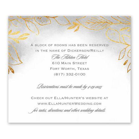 Golden Ring Information Card