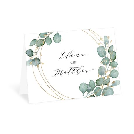 Eternity Thank You Card