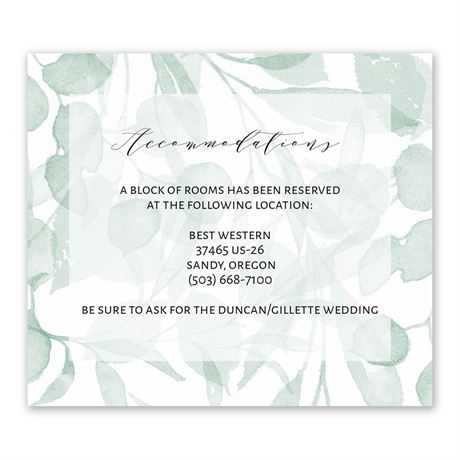 Subdued - Information Card
