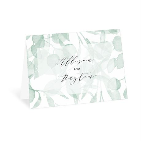 Subdued Thank You Card