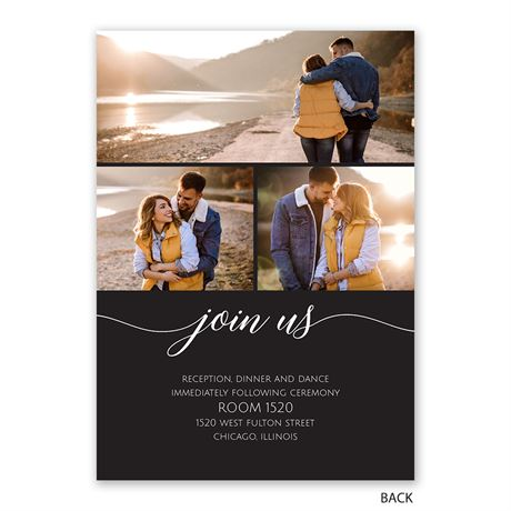 From this Day - Invitation with Free Response Postcard