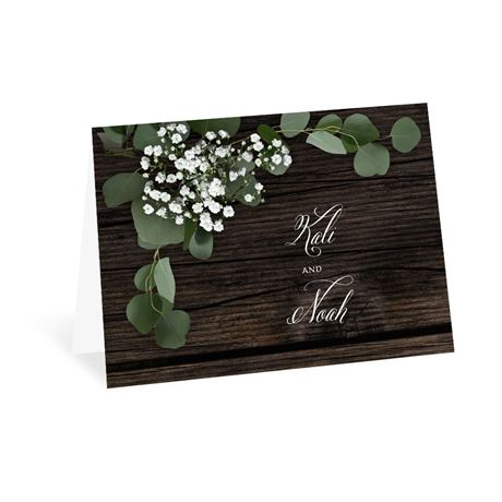 Delicate Details Thank You Card