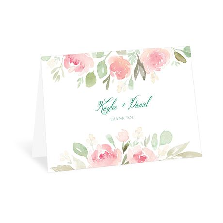 Blossoming - Thank You Card
