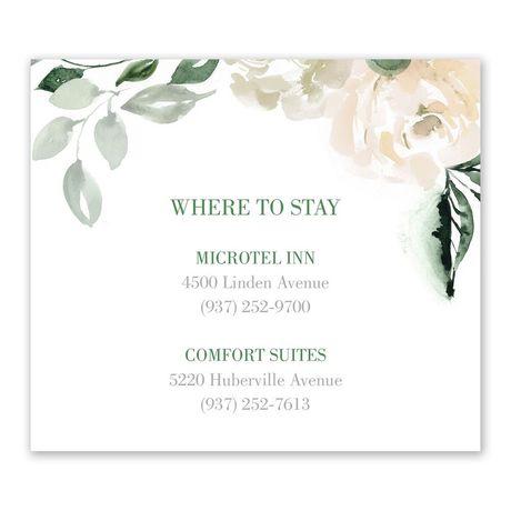 Garden Rose - Information Card
